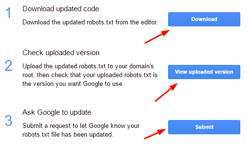 submit wordpress robots.txt file in google webmaster tool