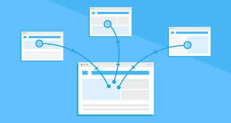 backlink pointing to your website