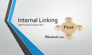 Internal linking Optimization Benefit And How To Do Internal linking by Using GWTs