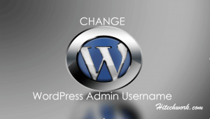 Change WordPress Admin Username And The Role Of User