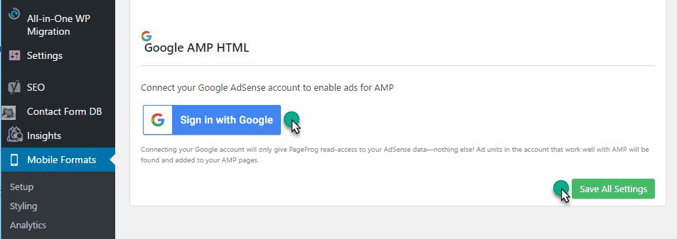 signup amp Adsense