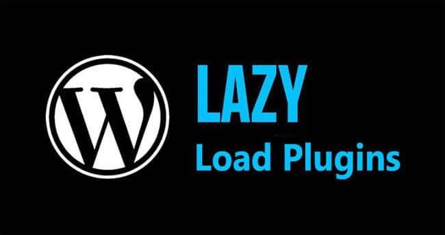 lazy load plugin for wordpress