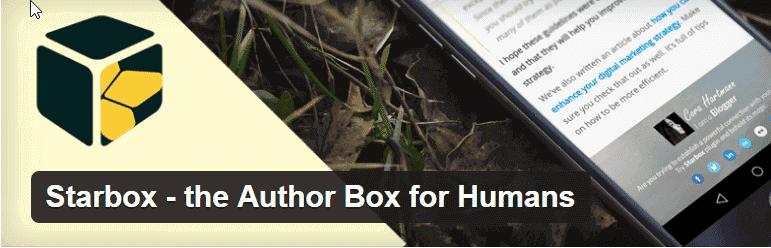 star box author box plugin