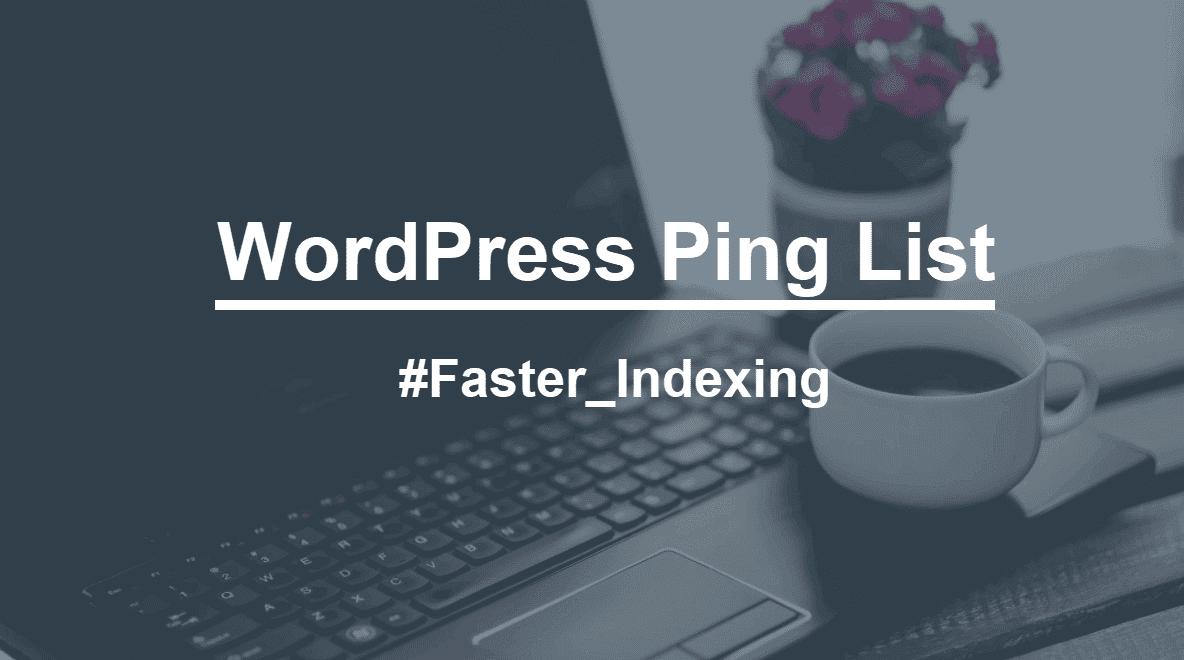 wordpress ping list wallpaper