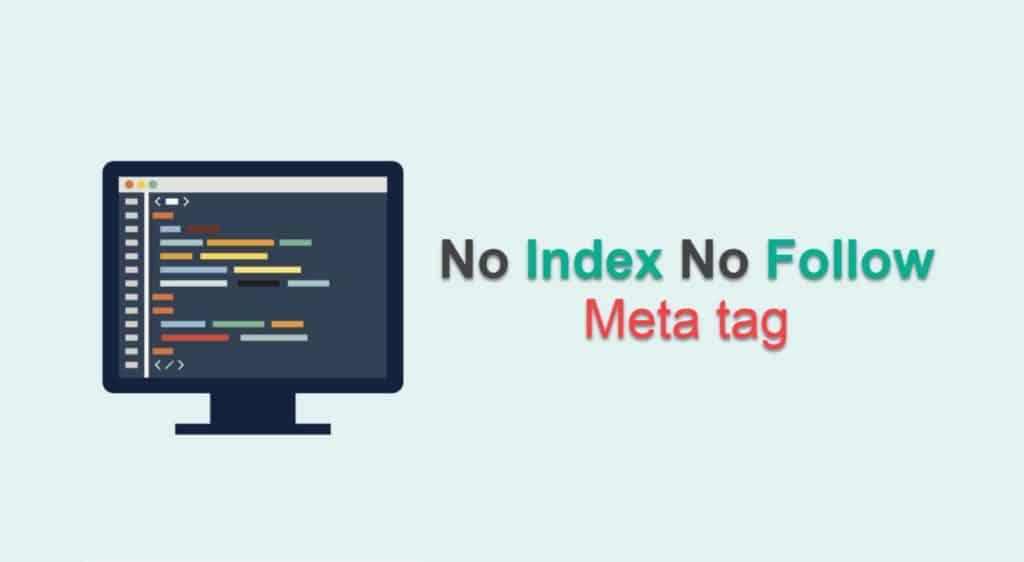 no index no follow meta tag