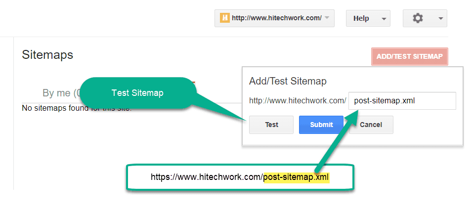 how to submit xml sitemap to google bing yandex webmaster tool
