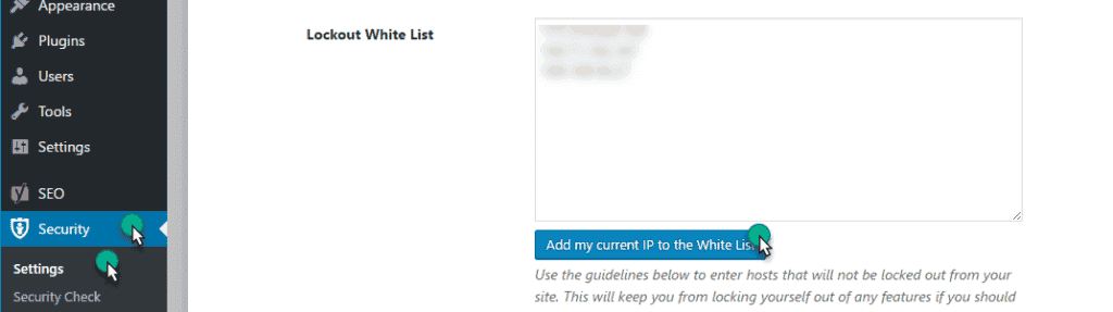 Add IP address in plugin