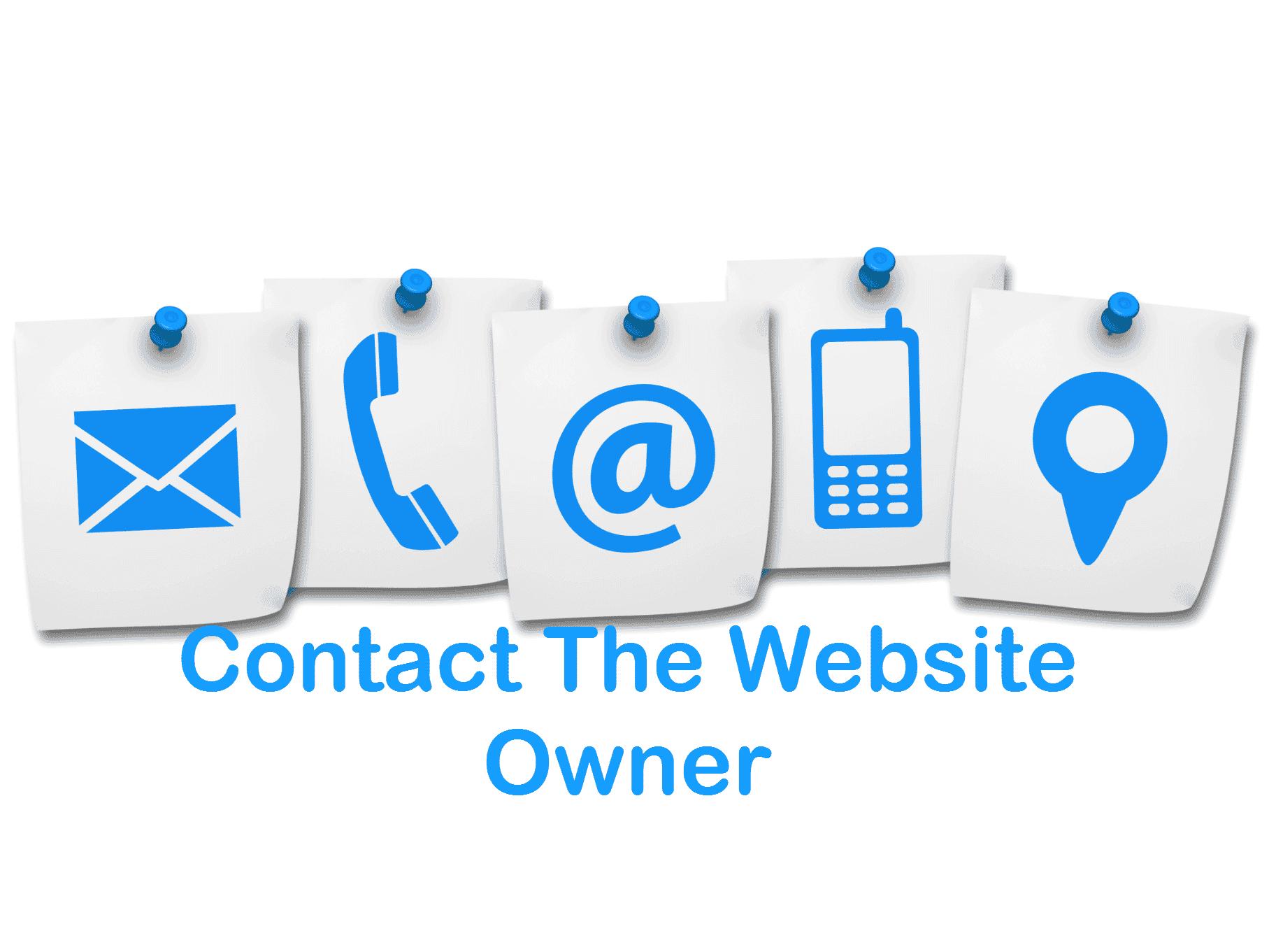 Website Owner Email Address