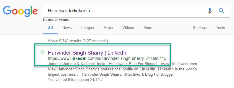 Search Command hitechwork+linkedin