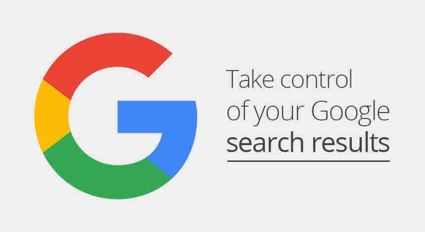 take control of your search result