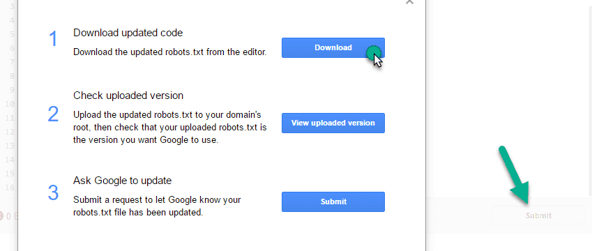 submitting file in googl ewebmaster tool