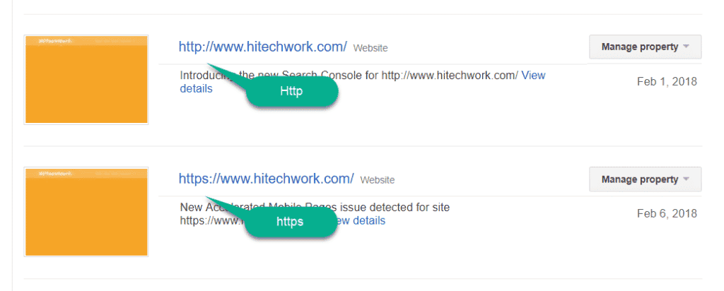 http and https version