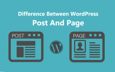 What is The Difference Between Post And Page In WordPress