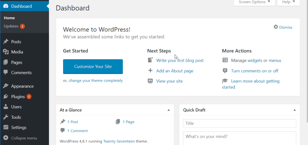 Login wordpress as an Admin
