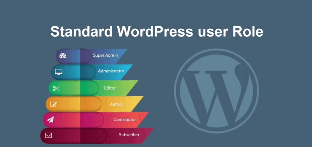 standard wordpress user role