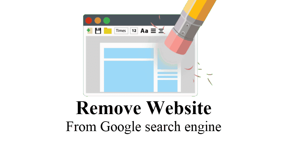 How To Remove Website From Google Search! Also Page, Images & Link