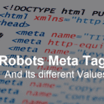 What Is Robots Meta Tag? It's Syntax And Different Values