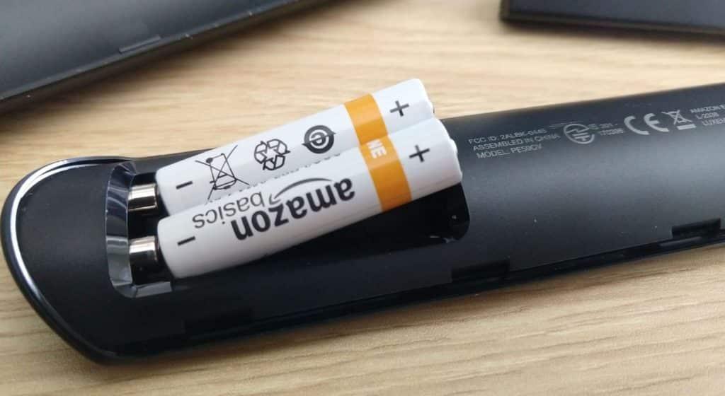 Fire Stick Remote Batteries