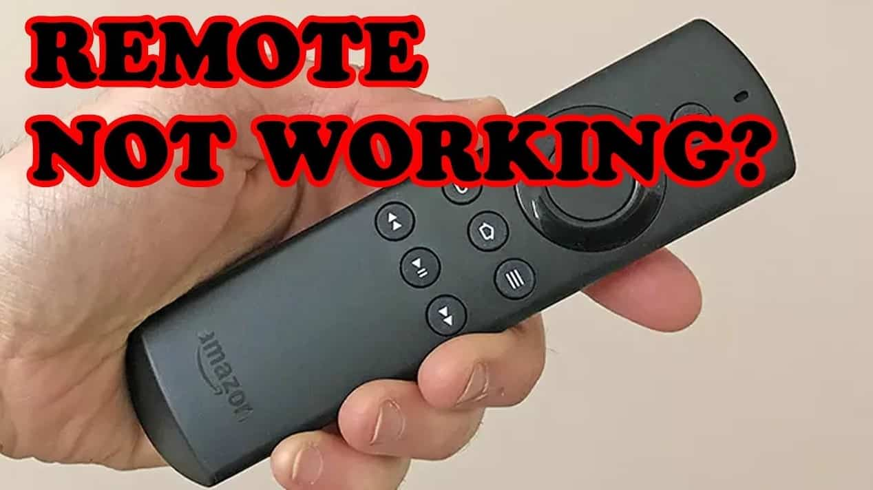 FireStick Remote Stopped Working