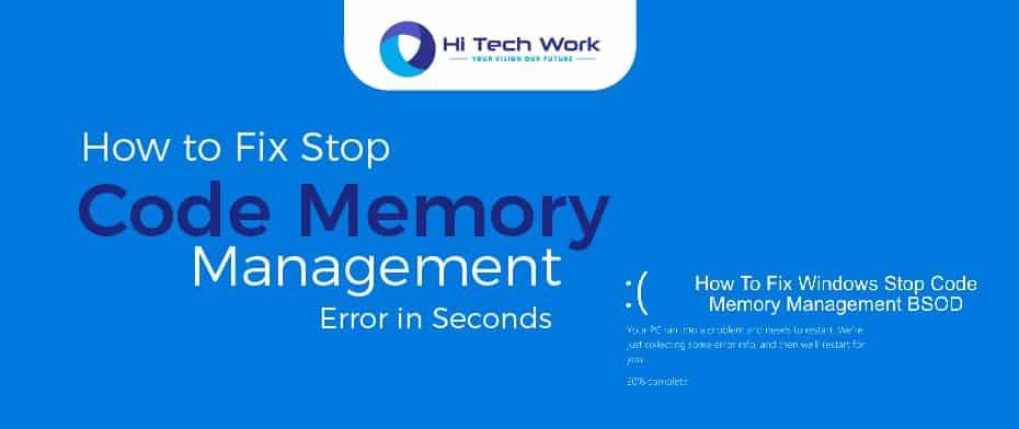 Memory Management Bsod
