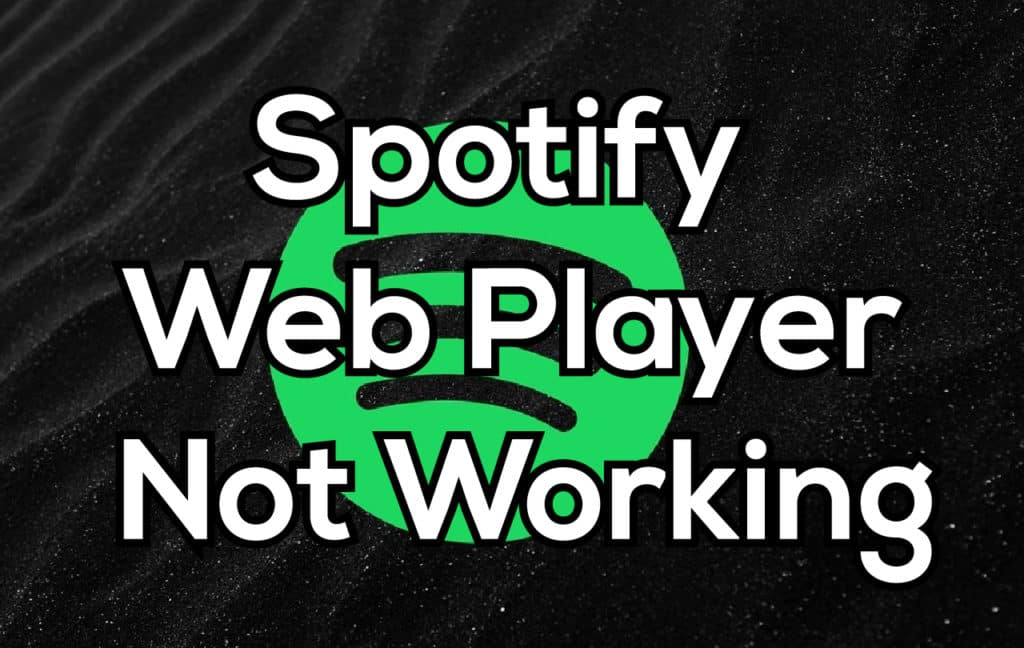 Spotify Web Player Not Working Chrome