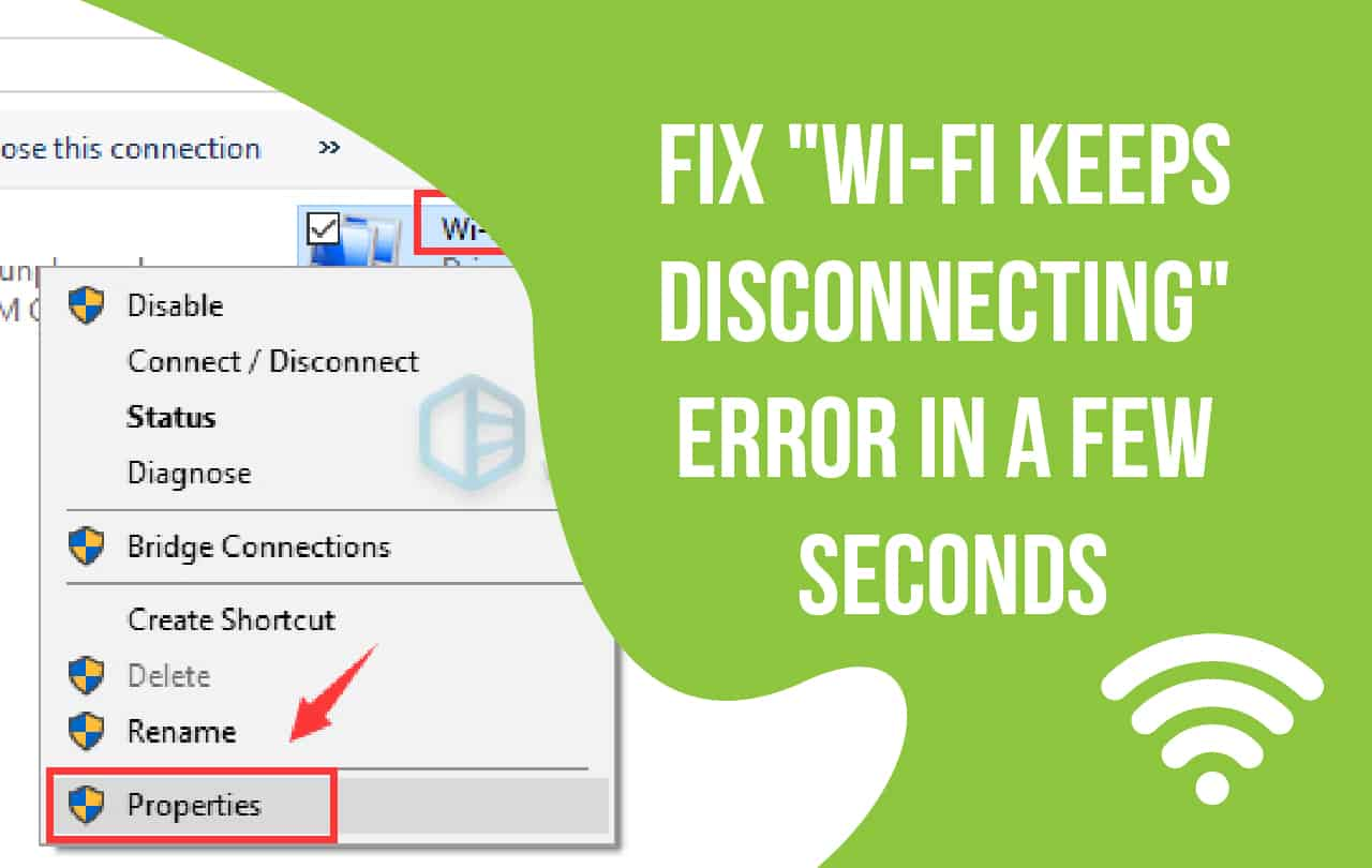 Wi-Fi Keeps Disconnecting