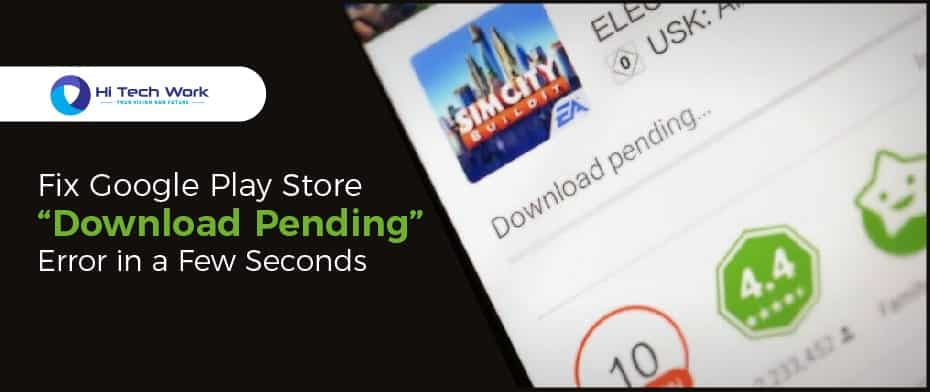 download pending android
