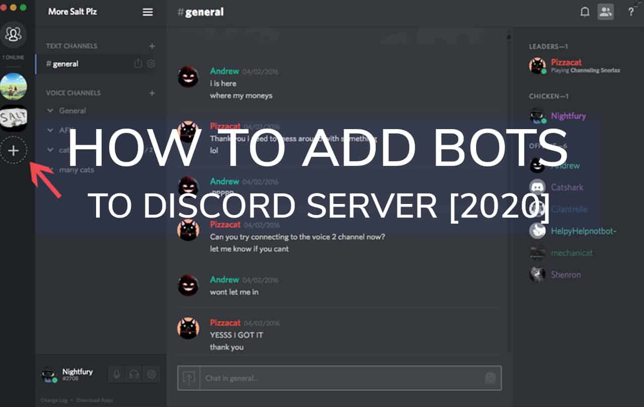 How to Add Bots to Discord Server [2020]