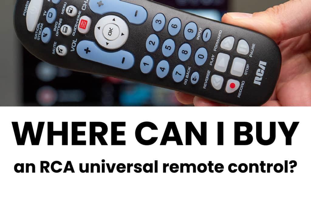 Rca Universal Remote Code Book