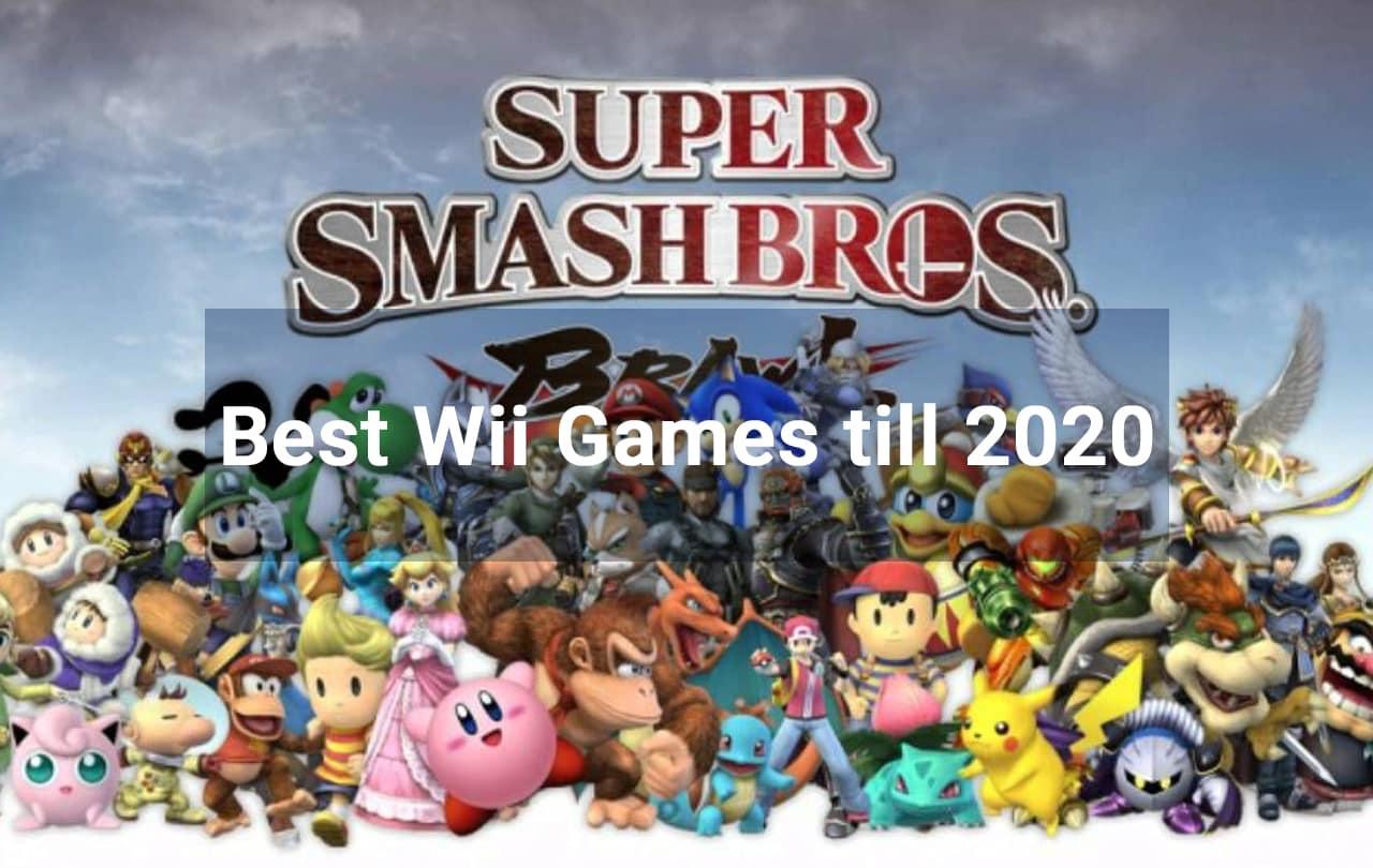 Best Wii Games till 2020