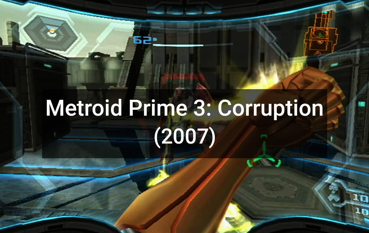 Metroid Prime 3 Corruption (2007)