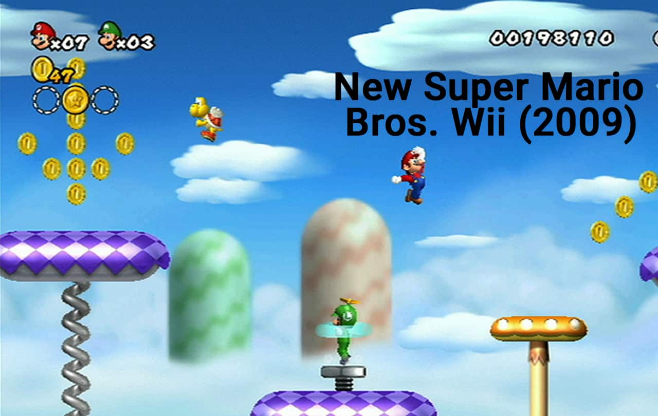 New Super Mario Bros. Wii (2009)