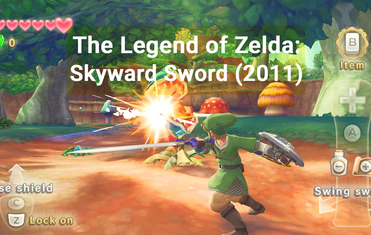 The Legend of Zelda Skyward Sword (2011)