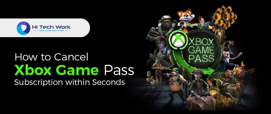how to cancel game pass on xbox
