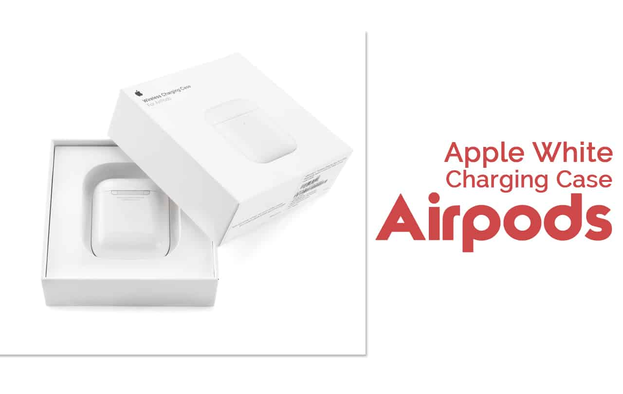 Apple White Charging Case Airpods