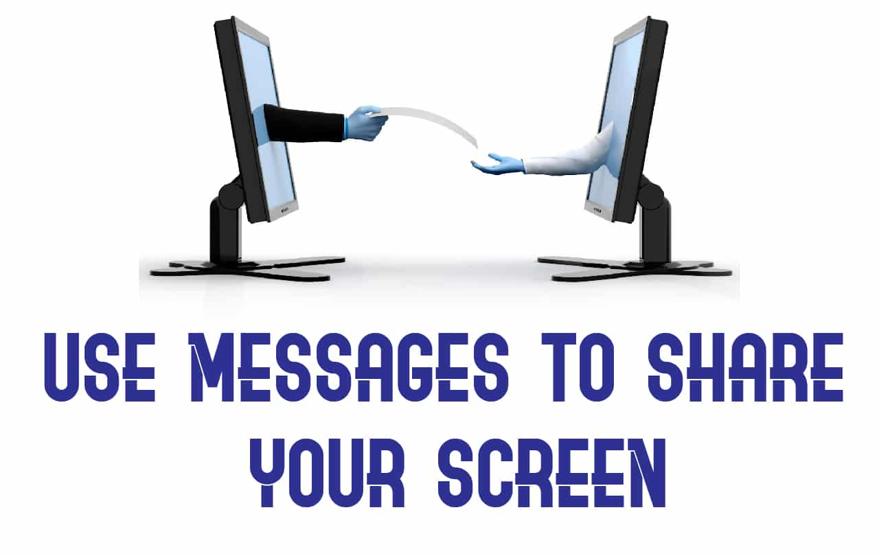 can you screen share on facetime