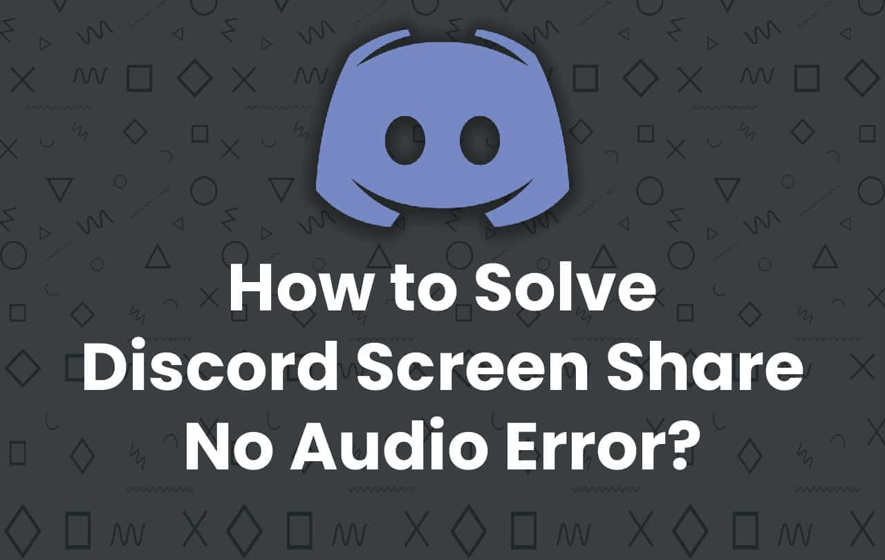 how to screen share on discord