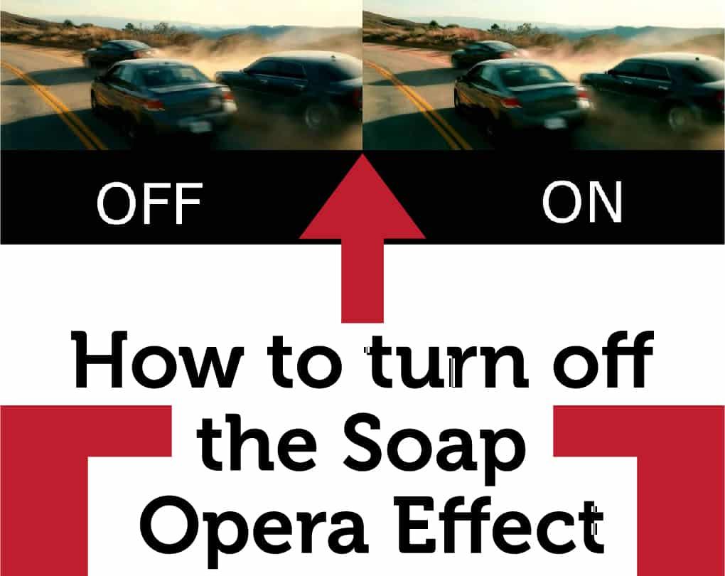 Soap Opera Effect Samsung 4K