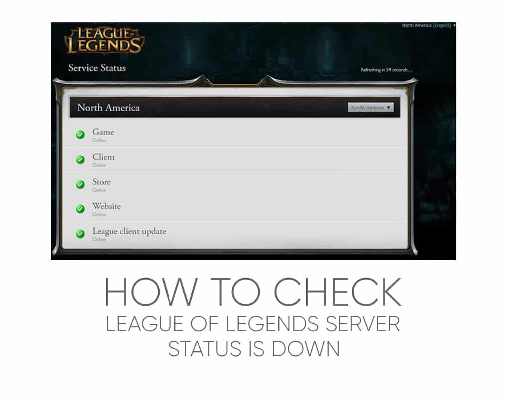 lol server status