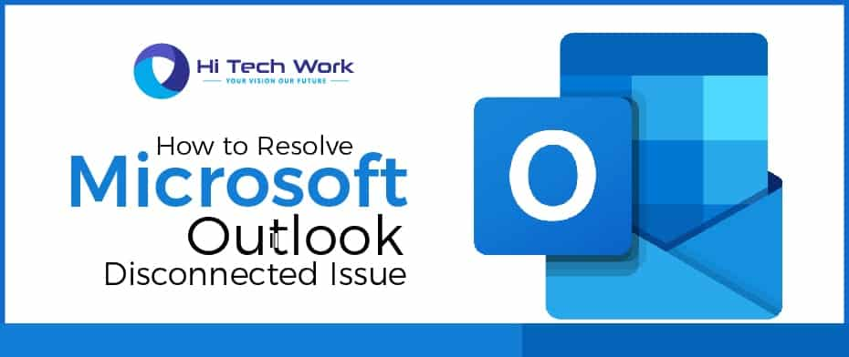 microsoft outlook disconnected