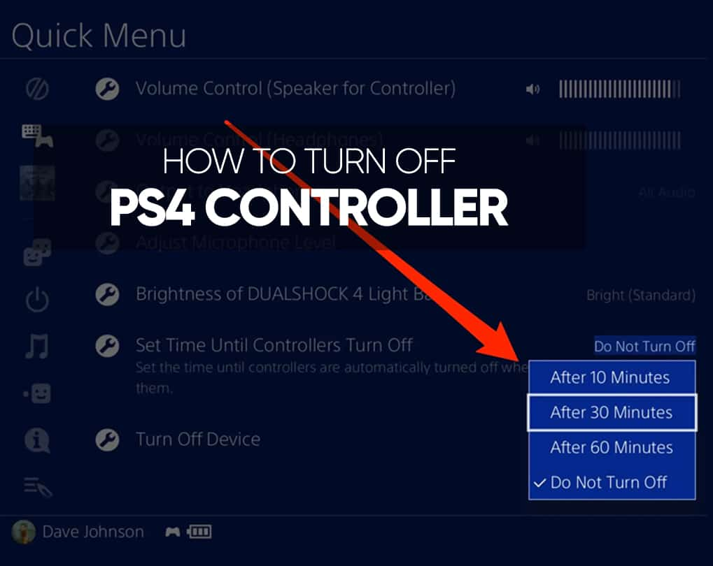 How To Turn Off Ps4 Controller On Pc