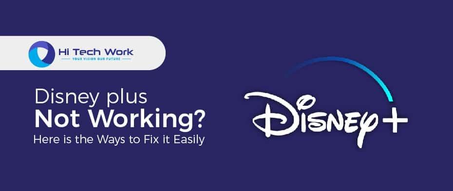 Disney Plus App Not Working