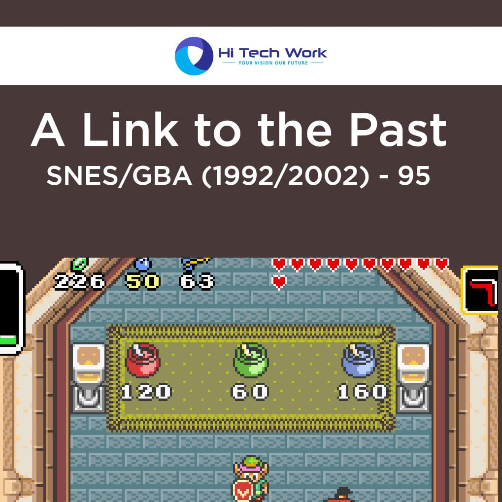 A Link to the Past - SNESGBA (19922002) - 95