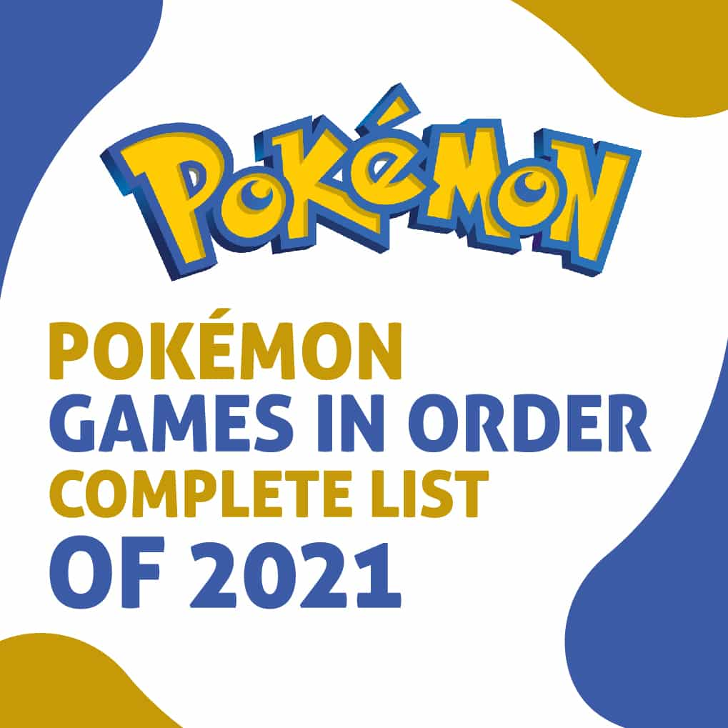 All Pokemon Games In Order