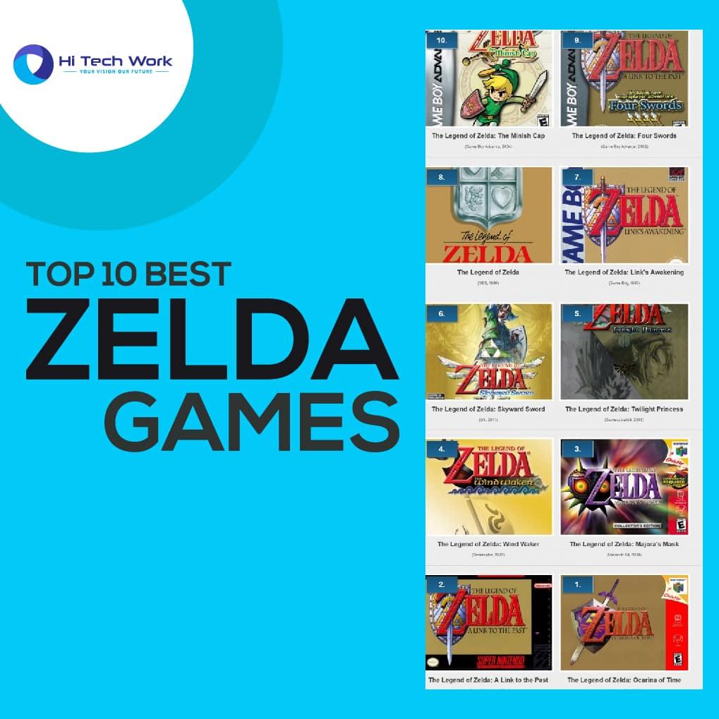 Best Selling Zelda Games