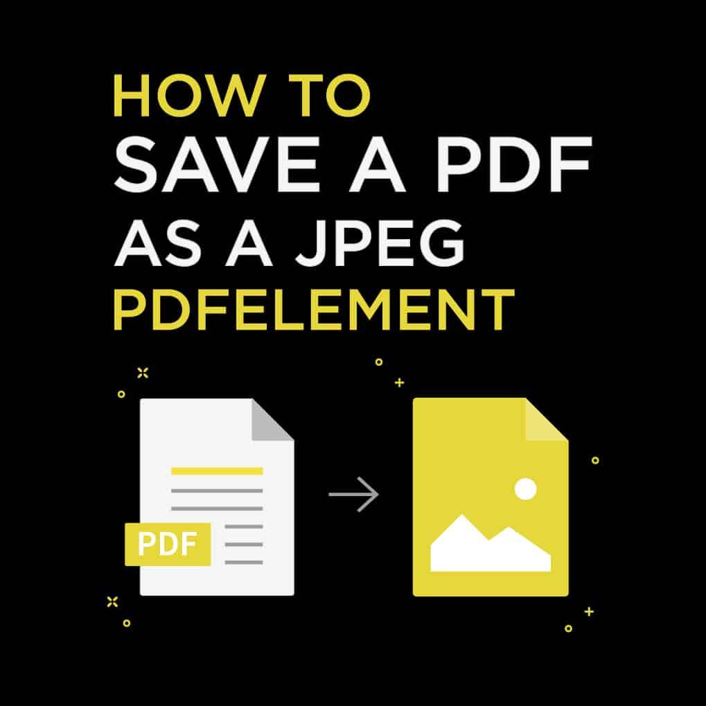 How To Save A Jpeg As A Pdf