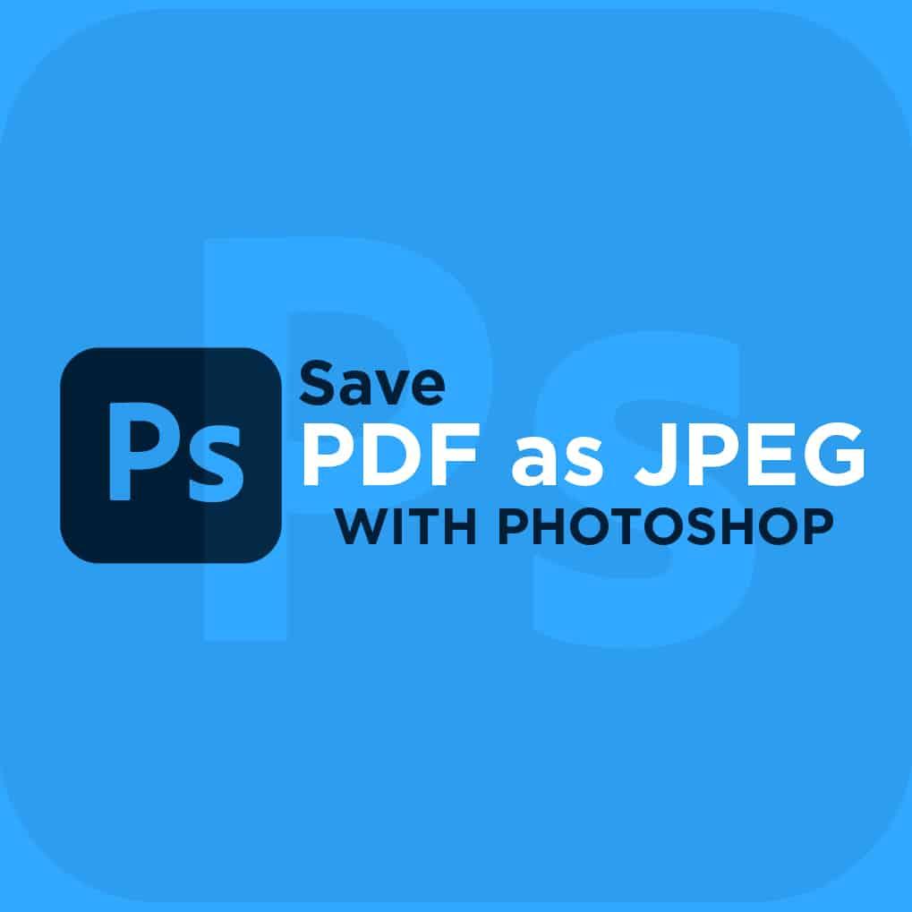 How To Save Pdf As A Jpeg