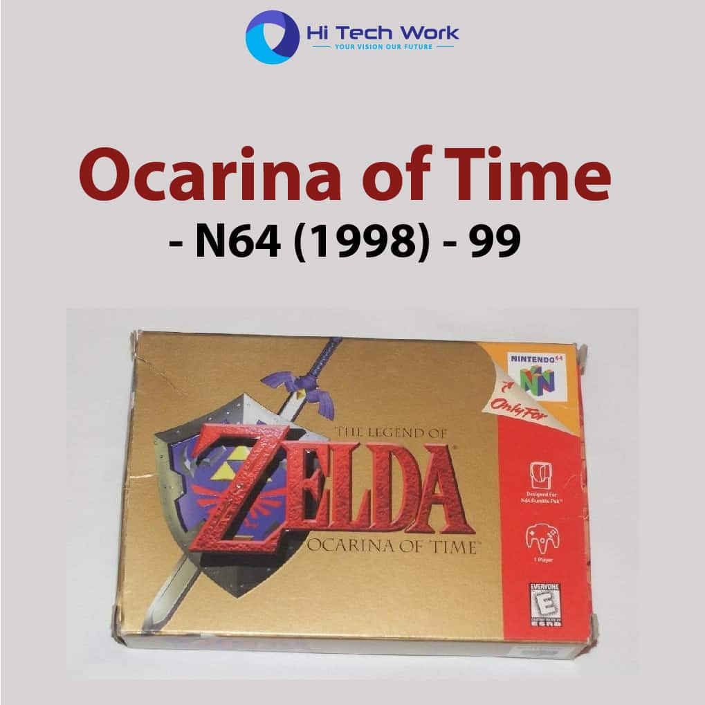 Ocarina of Time - N64 (1998) - 99