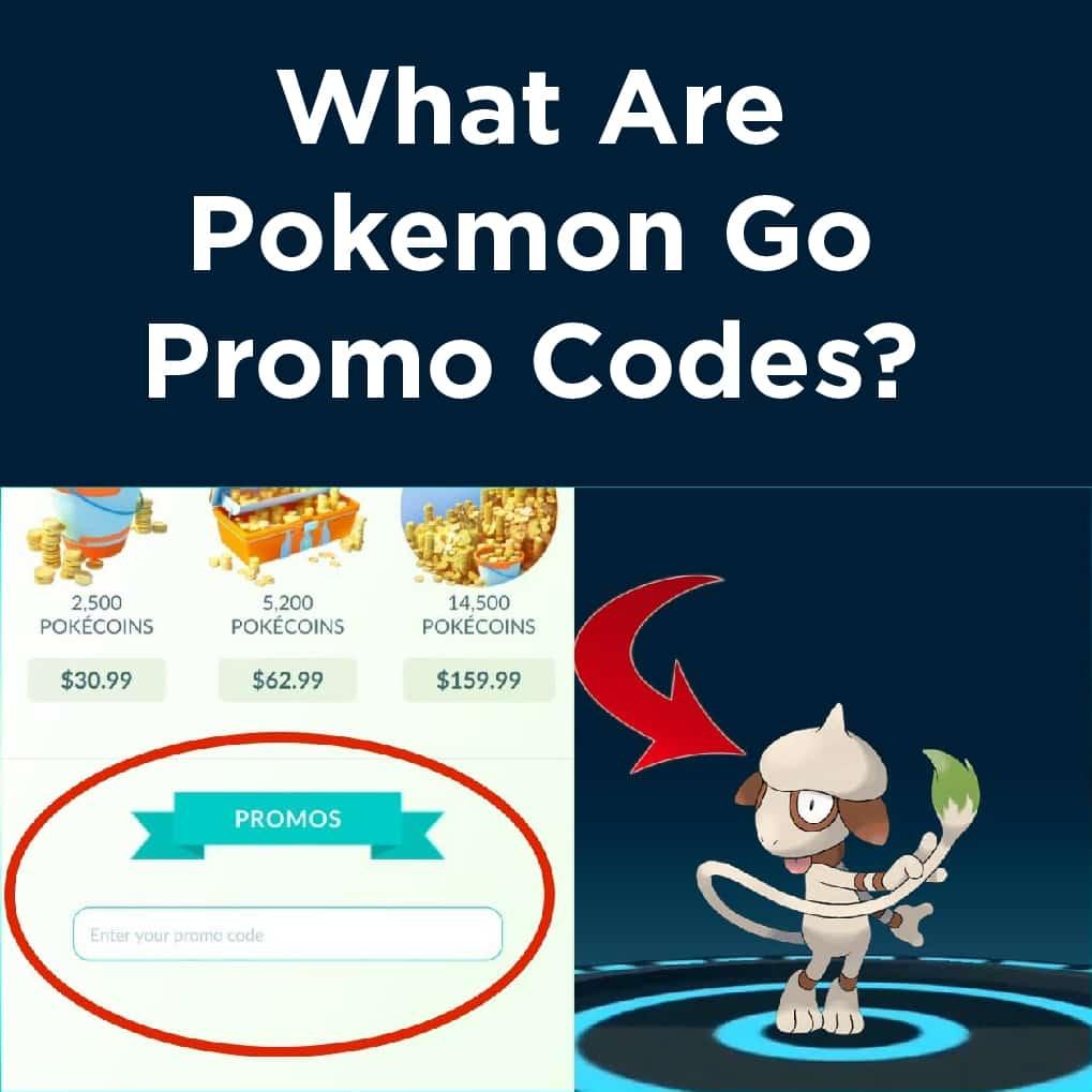 Promo Codes For Pokemon Go