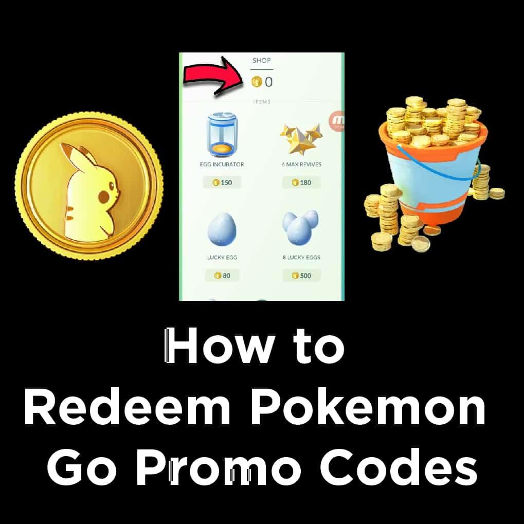 Promo Codes Pokemon Go
